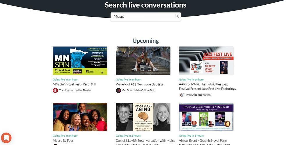 Crowdcast Live Streaming Platform