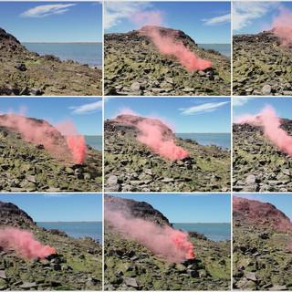 Señales de humo para otros mundos, secuencia , Puerto Deseado, Santa Cruz.