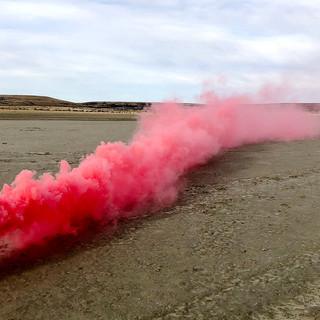 Señales de humo para otros mundos. Laguna seca, Ea. Montenegro