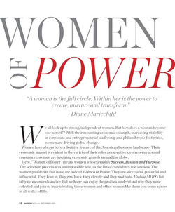 Hudson Mod Magazine, Women of Power