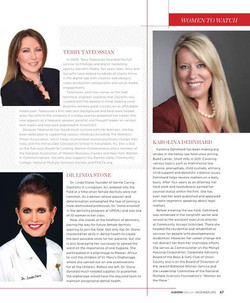 Hudson Mod Magazine, Women to Watch
