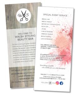 Walsh Styling Buckslip