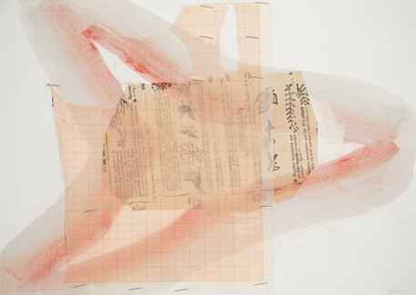 Untitled, 2014 mixed media on paper 29,7 x 21 cm