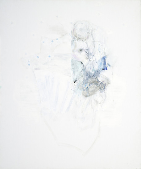 Still-Point, 2019 oil on canvas 120 x 100 cm