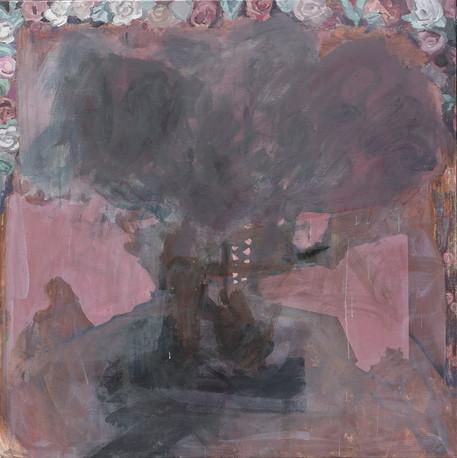 Eternal Enchantment, 2020 acrylic on canvas 130 x 130 cm