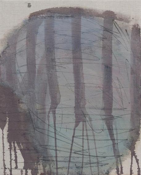 Untitled, 2015 acrylic on canvas 50 x 40 cm