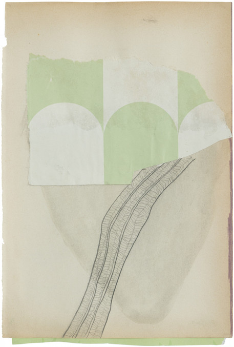 Untitled, 2020 mixed media on paper 27,5 x 18,5 cm