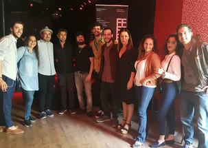 Compartiendo cartel con grandes artistas en Ciutat Flamenco 2018