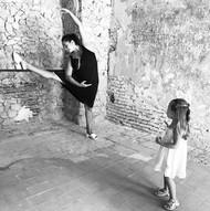 Divirtiéndome con mis hijas en el castillo de If, en Marsella