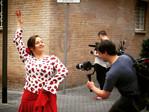Grabando documental para Suecia