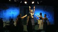 Espectáculo en el Teatro La trastienda en Argentina