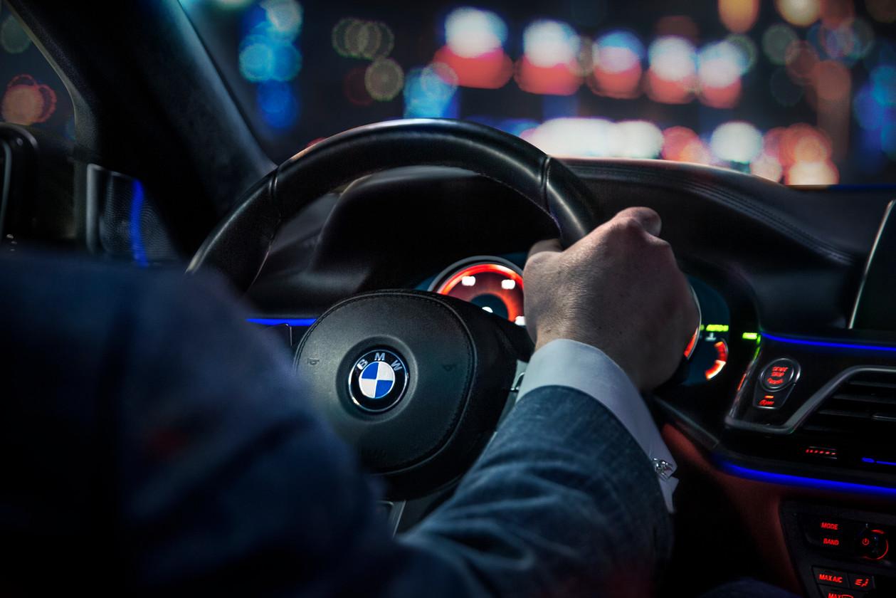 BMW m7 Steering Wheel