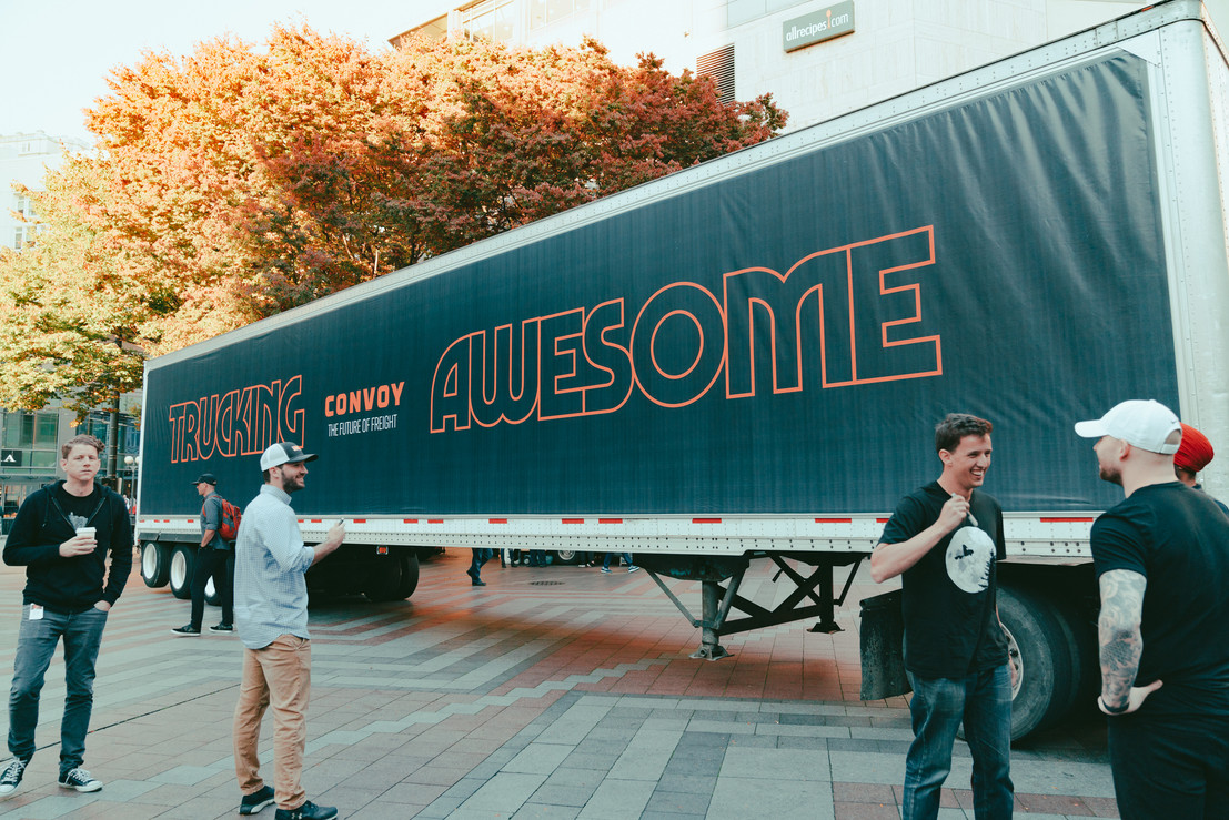 Convoy Truck signing.jpg