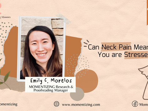 Can Neck Pain Mean that You are Stressed?!