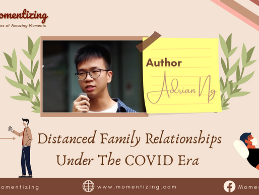 Distanced family relationships under the COVID era