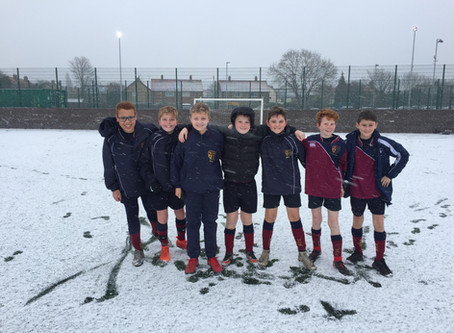 Freezing Football @ Haltemprice