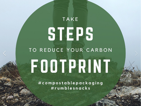 Take steps to reduce your carbon footprint!
