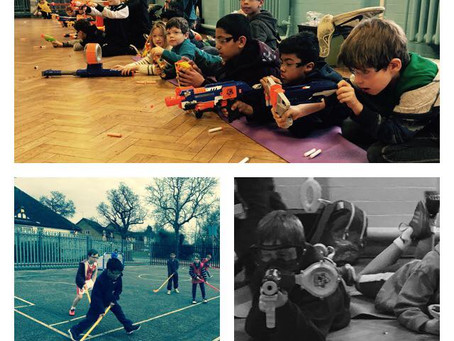 NERF Wars @ Fit4Fun Holiday Camps!