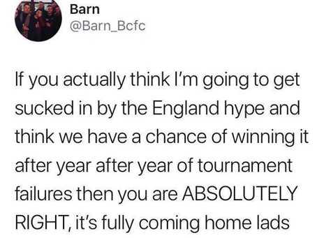 England @ Russia World Cup 2018