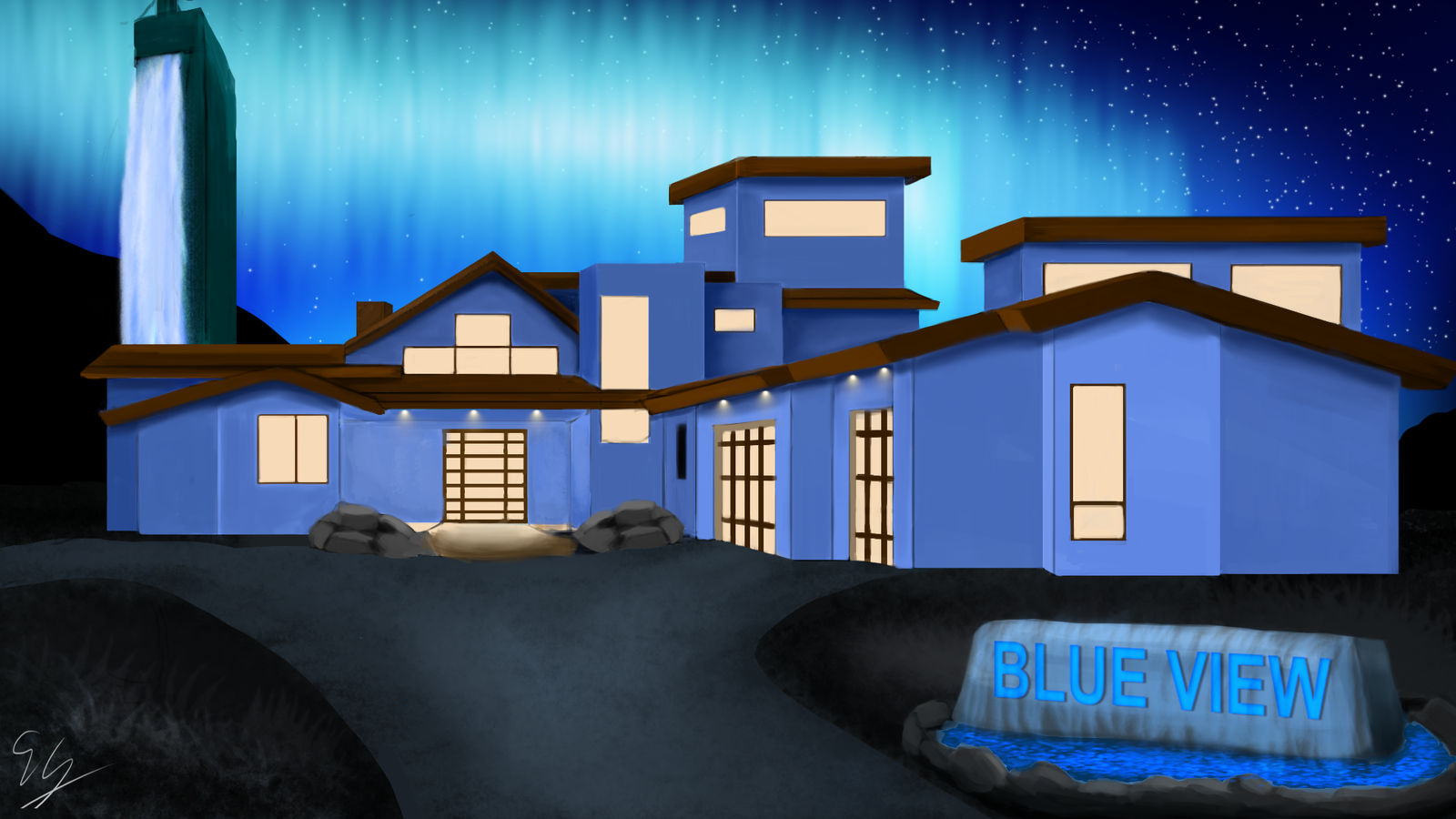 Blue View Mansion
