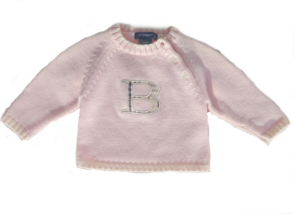 Pull Rose Burberry - 9M