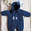 Thumbnail: Combinaison d'hiver Baby Dior - 6M