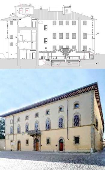 Restauro ristrutturazione e riqualificazione del Palazzo Collacchioni in Sansepolcro (Arezzo): PROGETTO DEFINITIVO