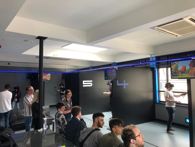 VR birthday parties