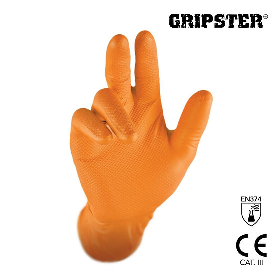 Gripster™ Skins disposable nitrile gloves