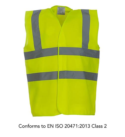 Hi-vis & enhanced visibility vests