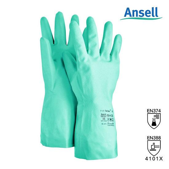 Ansell Solvex 37-675 nitrile gloves