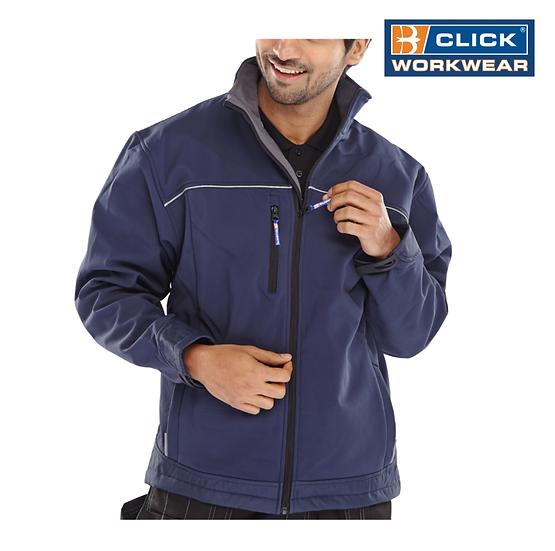Click SSJ softshell jacket