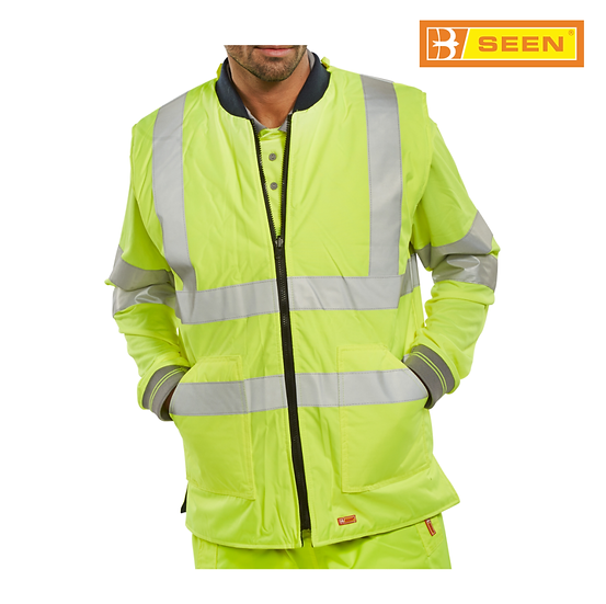 B-Seen BWENG reversible bodywarmer