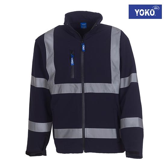 Yoko HVK09 enhanced visibility softshell jacket