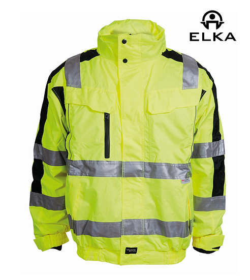 Elka 086101R hi-vis 2-in-1 bomber jacket