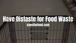 Have Distaste for Food Waste