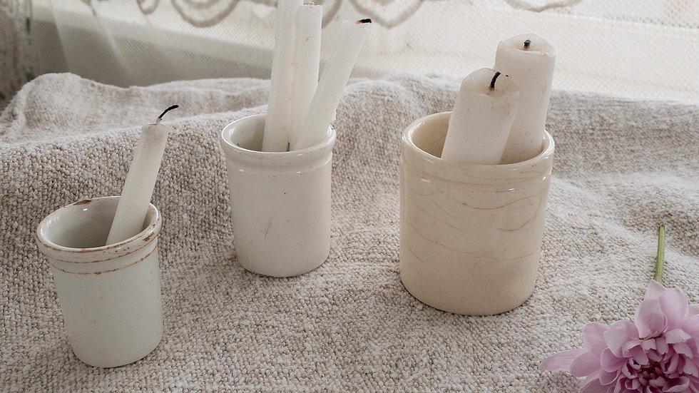 European Stoneware Pots (set of 3)