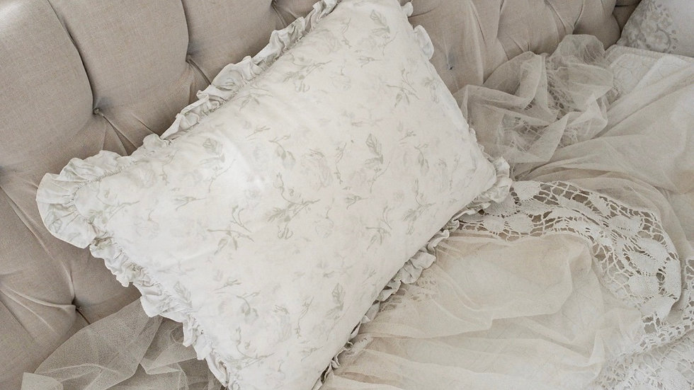 Vintage Shabby Chic Pillow