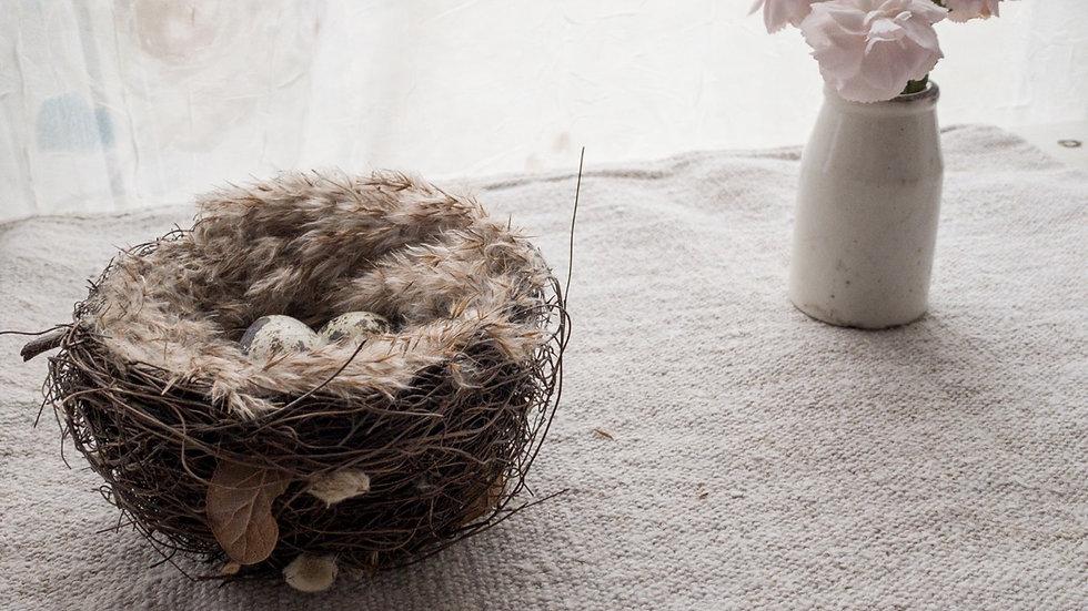 Vintage Decorative Bird Nest 2
