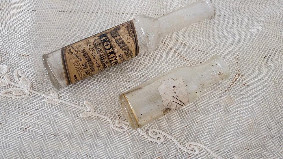 2 Antique European Bottles