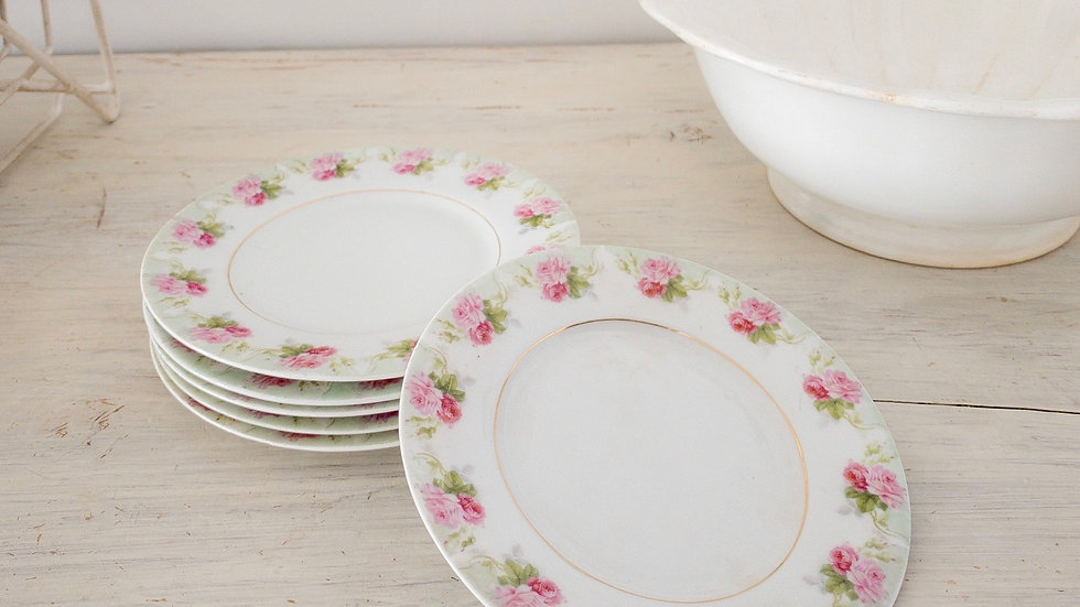 Vintage SCC Flower Plates