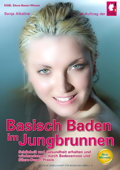 Basisch Baden im Jungbrunnen (Buch) - Sonja Alkaline / DGBL