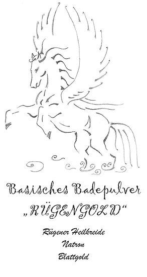 """Basisches Badepulver """"RÜGENGOLD"""""""