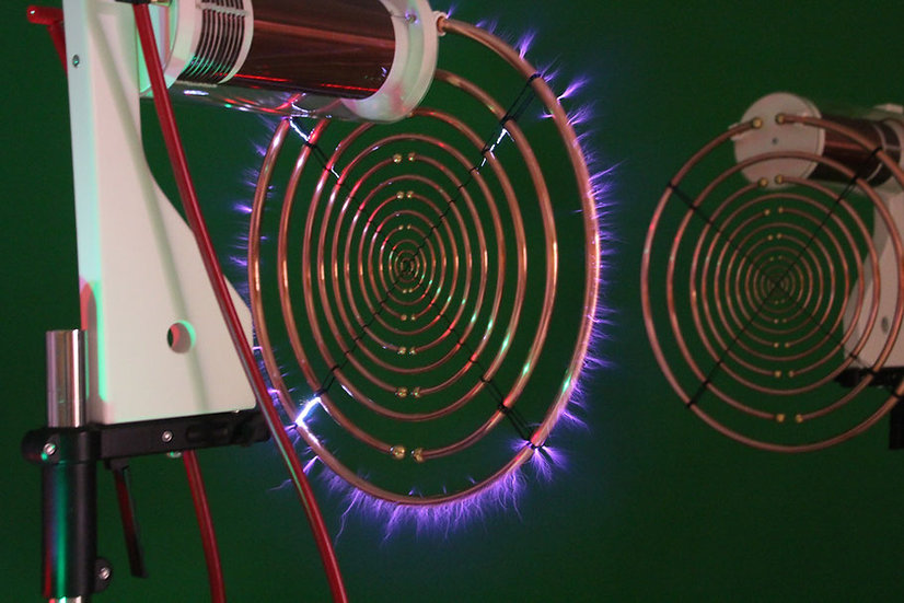Antennenpaar für Multiwellenoszillator nach Lakhovsky/Tesla