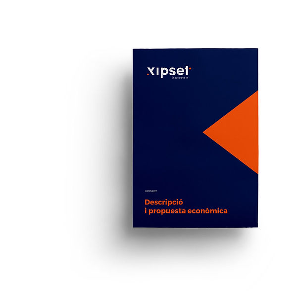 Estudi de disseny gràfic crea el logotip d Xipset de Valls, solucions it