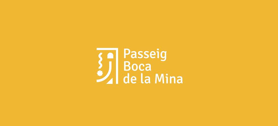 Disseny logotip a Reus pel Passeig de la Boca de la Mina de Reus