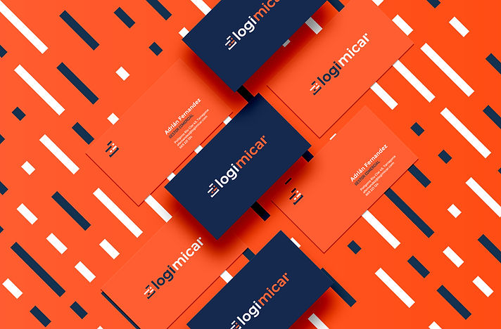 Creació de marca per logimicar dissenyada per Icònic and Co, estudi de disseny a Reus