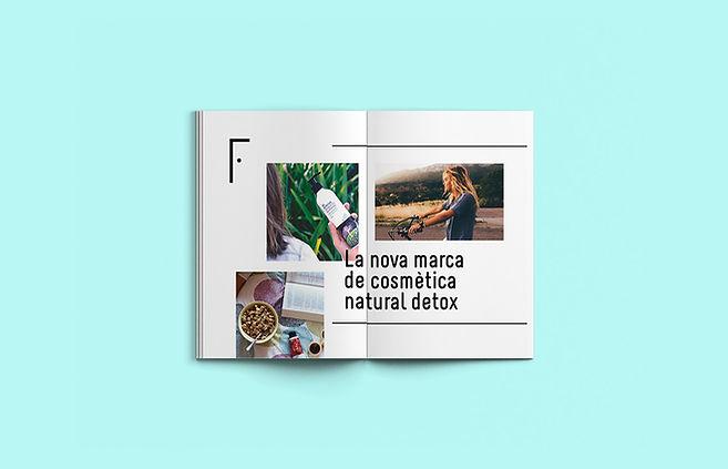 Catálogo diseñado por Iconicandco, estudio de diseño de Reus Tarragona