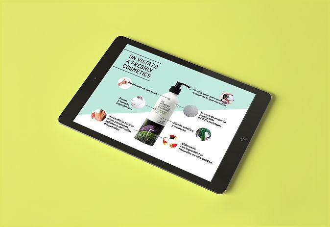 Catálogo digital diseñado por Iconicandco