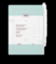 Carta de restaurante elDhor diseñada por Iconic&co